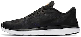 Nike Men's Flex RN 2017 Black Running Shoes