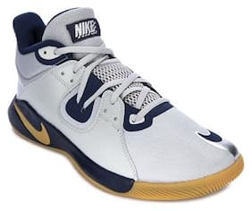 Nike Men FLY BY MID Basketball Shoes ( Multi-Color )