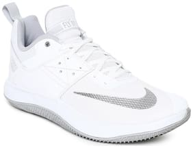 Nike Men Basketball Shoes ( White )