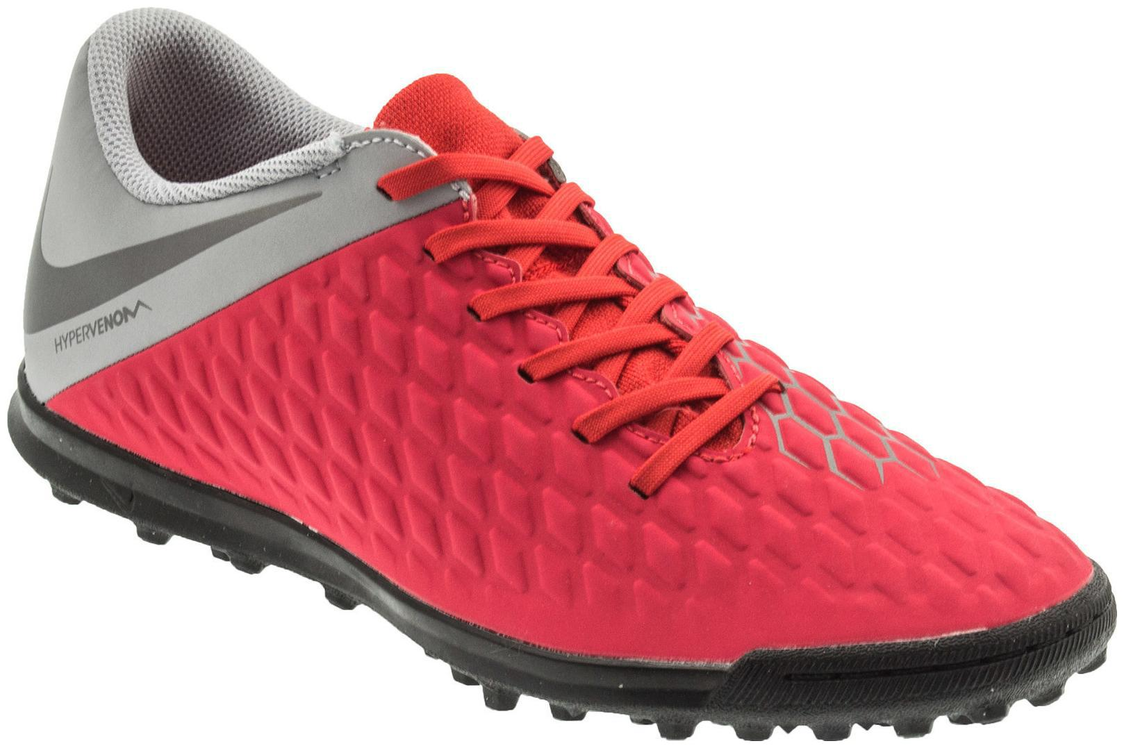 new products e3482 504af Nike Hypervenom 3 Club Red Football Shoes men
