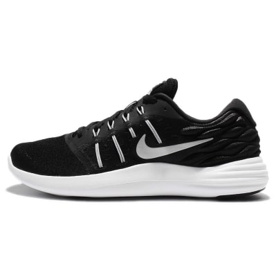 Nike Men's Lunarstelos Black Running Shoes
