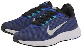 NIKE Men's Midnight Navy/Black-Vest Grey RUNALLDAY Running Shoes 898464-016