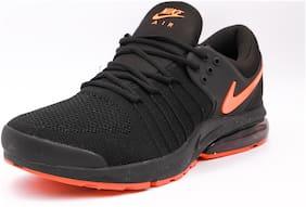Nike Men Running Shoes & Training/Gym Shoes ( Black )