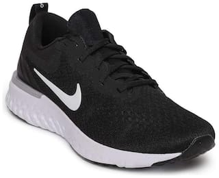 720095f79541f Nike Men s Odyssey React Black White-Wolf Grey Running Shoes for Men ...