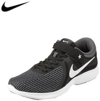 Nike Men Revolution 4 Flyease Running Shoes ( Black )