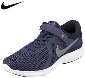 Nike Men Revolution 4 Flyease Running Shoes ( Navy Blue )