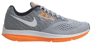 Nike Men Grey Running Shoes