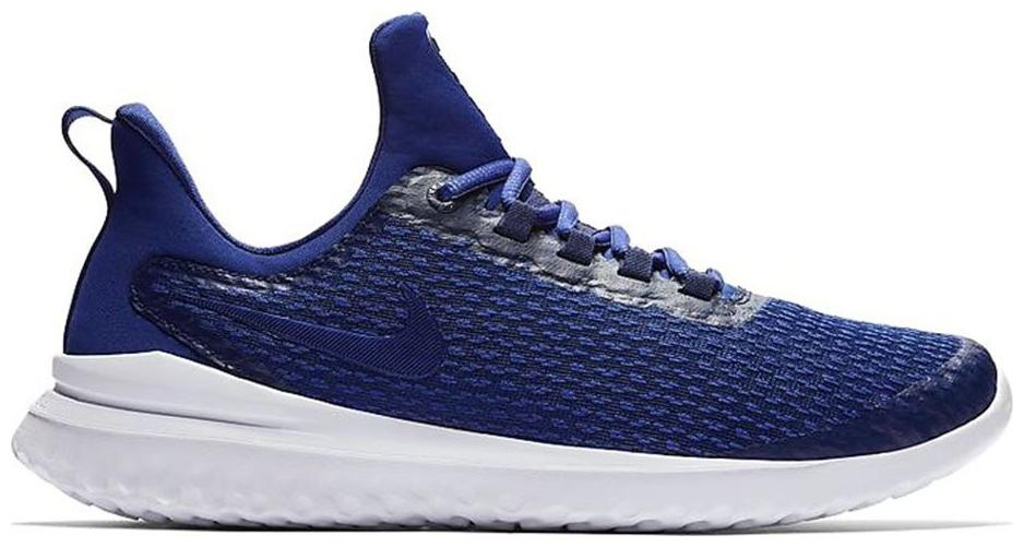 Nike Men s Renew Rival Blue White Running Shoes Running Shoes   Navy Blue