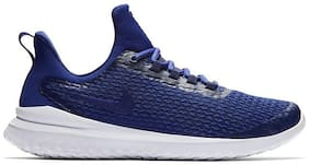 Nike Men s Renew Rival Blue-White Running Shoes Running Shoes ( Navy Blue )