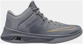 Nike Men Basketball Shoes ( Grey )