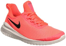 Nike Orange Synthetic Low Ankle Casual Running Shoes For Men(W Renew Riva)