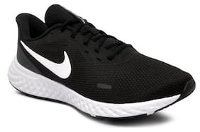 Nike Men NIKE REVOLUTION 5 Running Shoes ( Black )