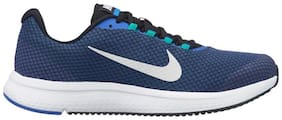 Nike Men Runallday / Blk-Grey-Clear Jade Running Shoes ( Blue )