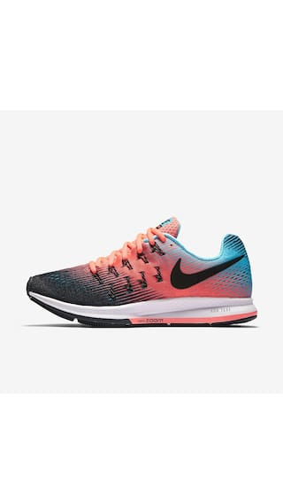 6a4ff2966a59 Buy Nike Women Air Zoom Pegasus 33 Pink Running Shoes Online at Low ...