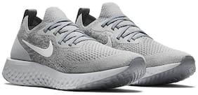 Nike Women Epic React Flyknit Running Shoes ( Grey )