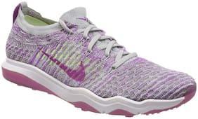 Nike Women W AIR Zoom Training/ Gym Shoes ( Purple )