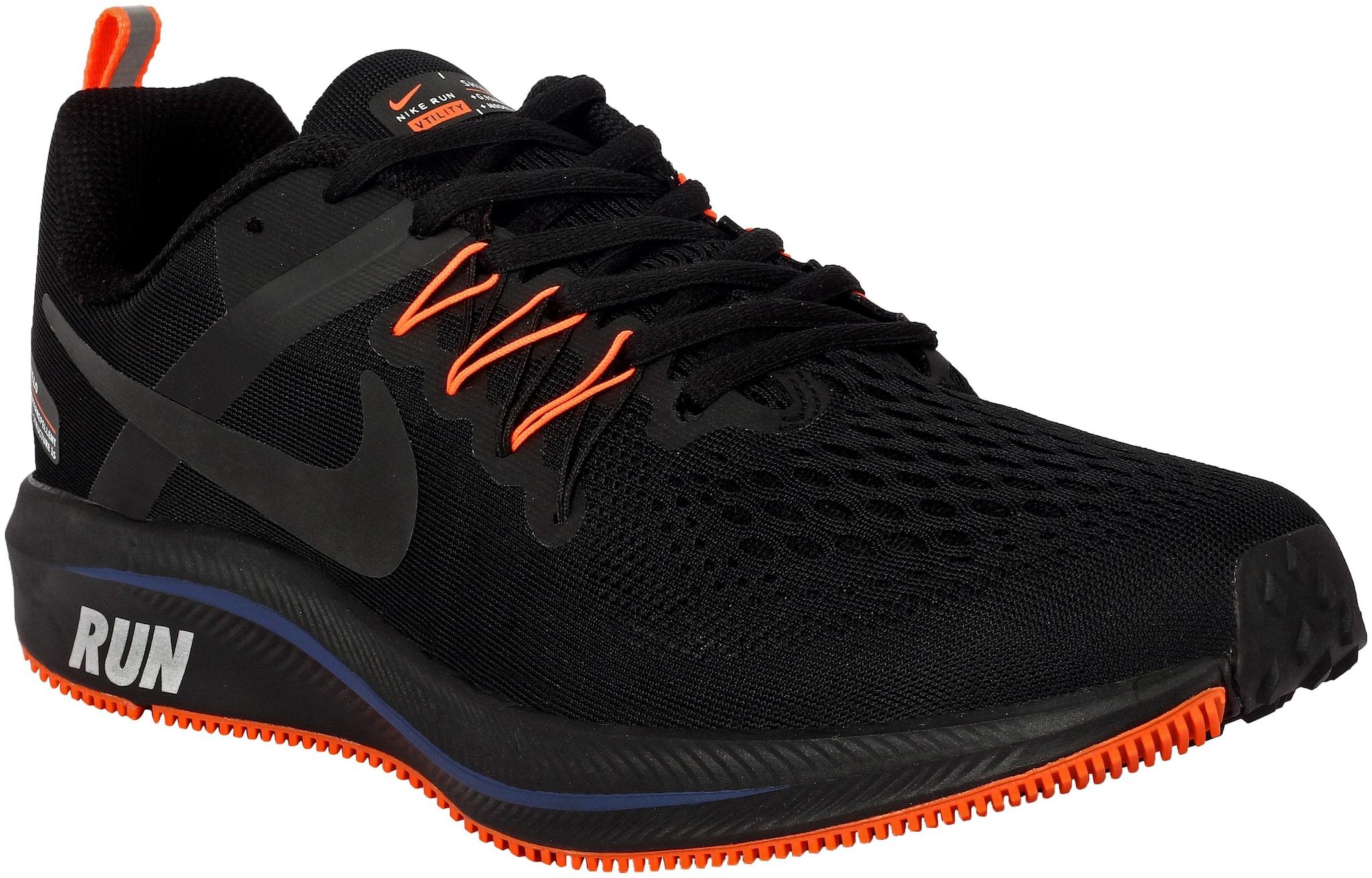 Nike Men Running Shoes ( Black \u0026 Orange