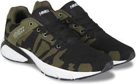 NINE PLUS Men Nineplus Force Running Shoes ( Black )