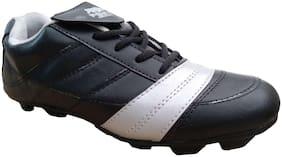 Ninja black stud football shoes