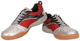 Nivia Men Red Badminton/squash Shoes