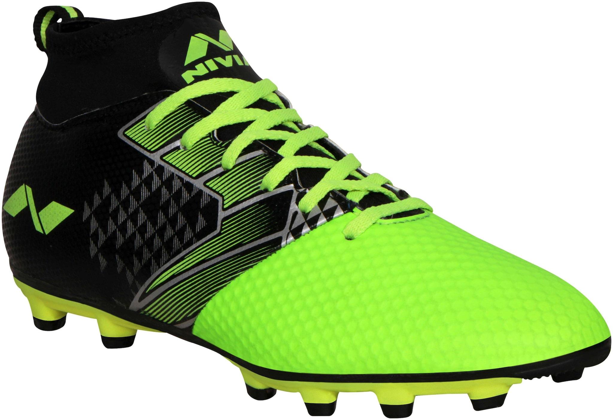 Nivia Men Football Shoes ( Green ) for