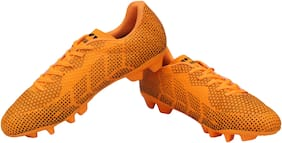 Nivia Men Football Shoes ( Orange )