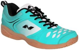Nivia Men Badminton/Squash Shoes ( Navy Blue )