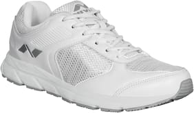 Nivia Men Running Shoes ( White )