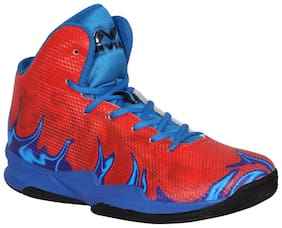 Basketball Shoes For Men ( Red )