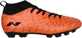 Nivia Men Football Shoes ( Orange )
