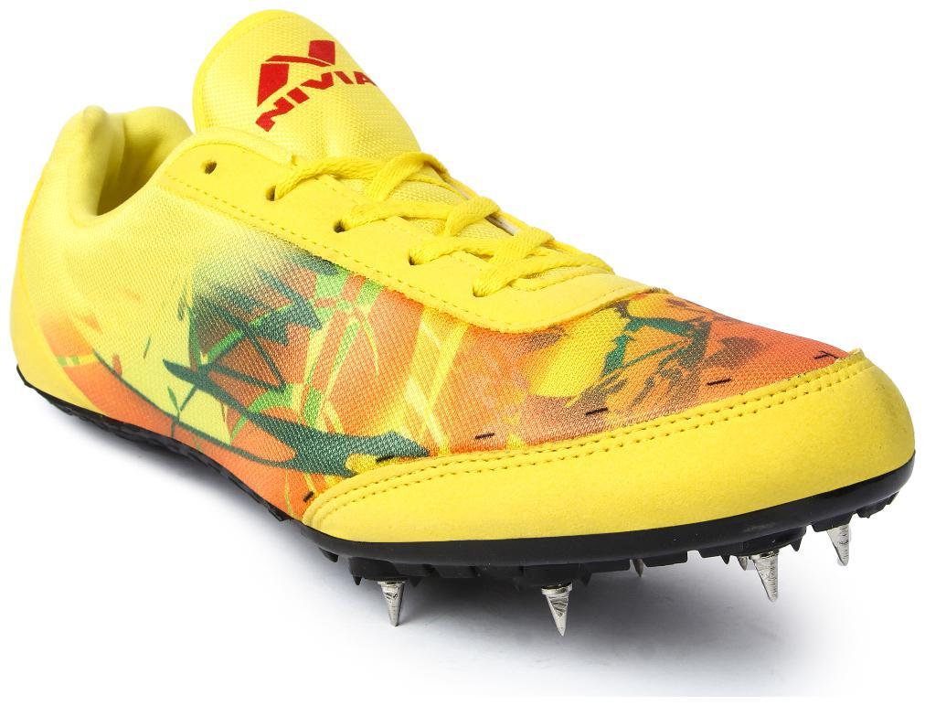 nivia spike shoes