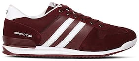 North Star Men Maroon Casual Shoes