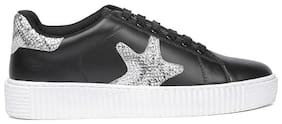 North Star Women Black Casual Shoes