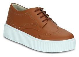 Get Glamr Women Tan Sneakers