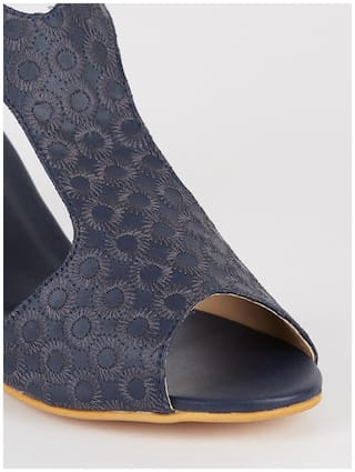Nupie Women Blue Wedges