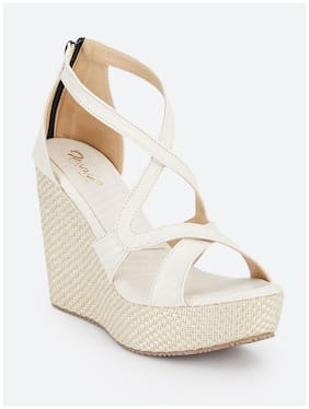 Nupie Women Beige Wedges