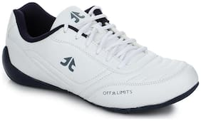 Off Limits Men Speed Cat White Running Shoes
