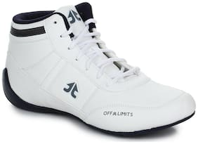 Off Limits Men Boot Camp Running Shoes ( White )