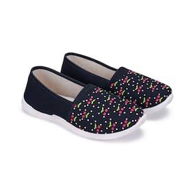 Oricum Women Blue Slip-On Shoes