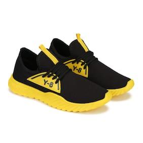 Oricum Men Running Shoes ( Black & Yellow )