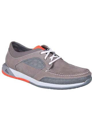 fd95c1aa5 Buy Clarks Men Grey Casual Shoes - 91261252807 Online at Low Prices ...