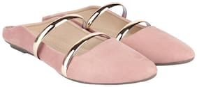 ORYSTA Women Pink Bellie