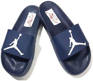pretty nice dfd3b 31bd6 Buy Pampys Angel Jordan Slipper Flip Flops for Men Online at ...