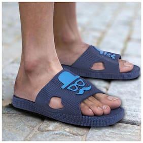 Pampys Angel Men Blue Sliders