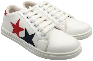 Pampys Angel Sneakers For Women ( White )