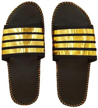 Pampys Angel 4Line Slippers & Flip Flops for Men