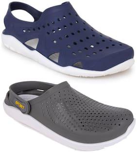 Men Sandals ( Blue;Grey )