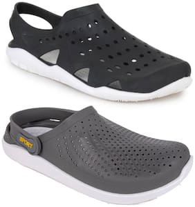 Men Sandals ( Black;Grey )