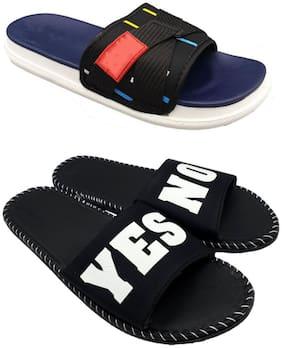 Men Sliders ( Blue;Black )