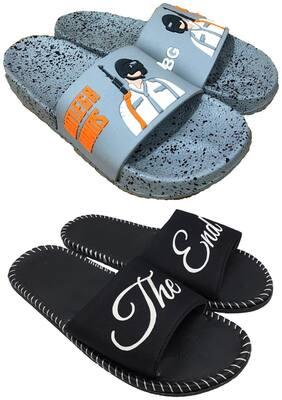 Men Sliders ( Grey;Black )
